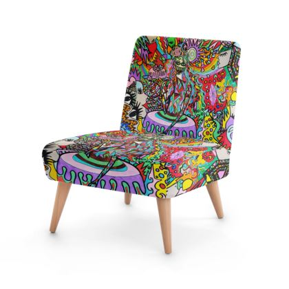 Pop Art Sweet Girl Occasional Chair by Azima