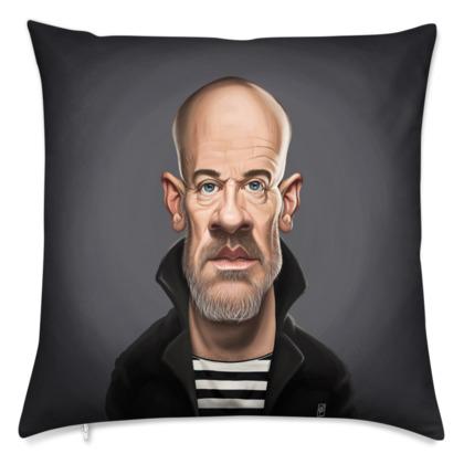 Michael Stipe Celebrity Caricature Cushion