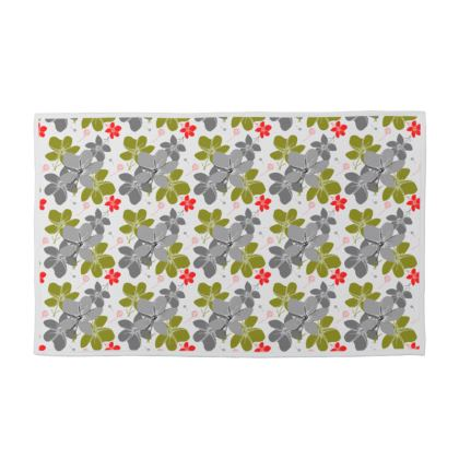 Towel set. Tropical Flower