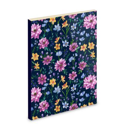 Floral Pocket Notebook, Beautiful Blooms Design