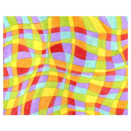 Rainbow Plaid Espadrilles