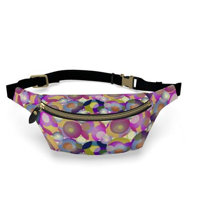 Moon Collection on cream Womens Bumbag