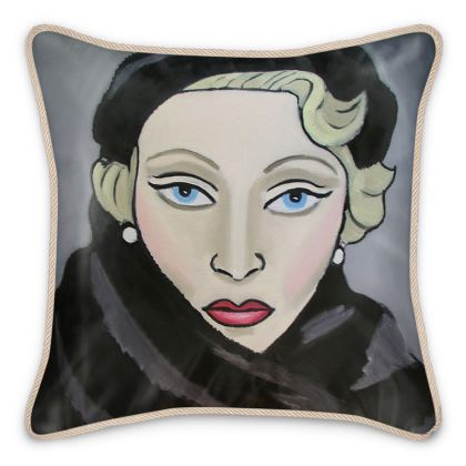 Falling in Love Again cushion
