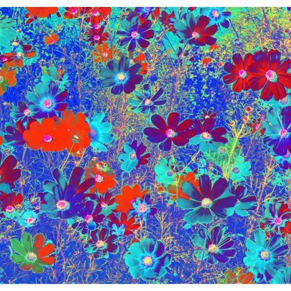 Skater Dress Cosmos Flowers