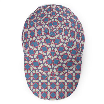 Baseball Cap Tile Pattern