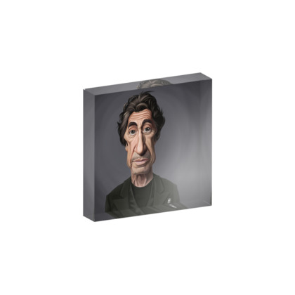 Al Pacino Celebrity Caricature Acrylic Photo Blocks