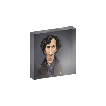 Benedict Cumberbatch Celebrity Caricature Acrylic Photo Blocks