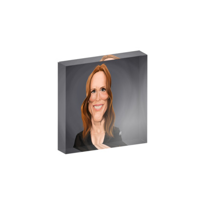 Julianne Moore Celebrity Caricature Acrylic Photo Blocks