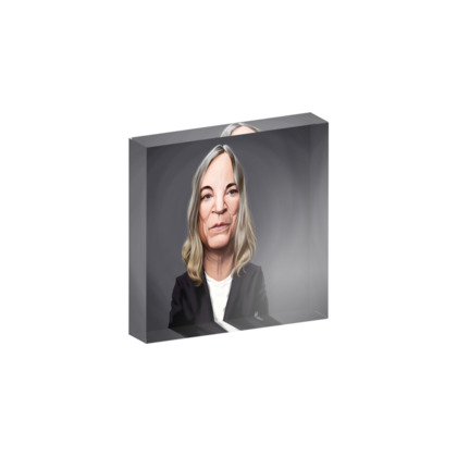 Patti Smith Celebrity Caricature Acrylic Photo Blocks