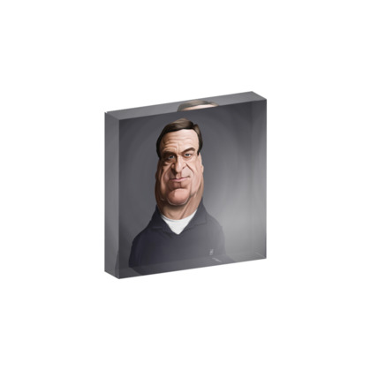 John Goodman Celebrity Caricature Acrylic Photo Blocks