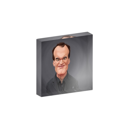 Quentin Tarantino Celebrity Caricature Acrylic Photo Blocks