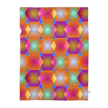 Geometrical Shapes Collection Blanket