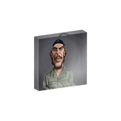 Che Guevara Celebrity Caricature Acrylic Photo Blocks