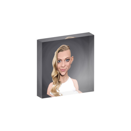Natalie Dormer Celebrity Caricature Acrylic Photo Blocks