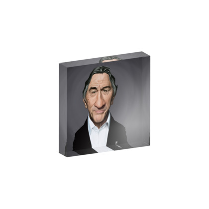 Robert De Niro Celebrity Caricature Acrylic Photo Blocks