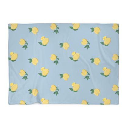 Lemon Jello Baby Blanket