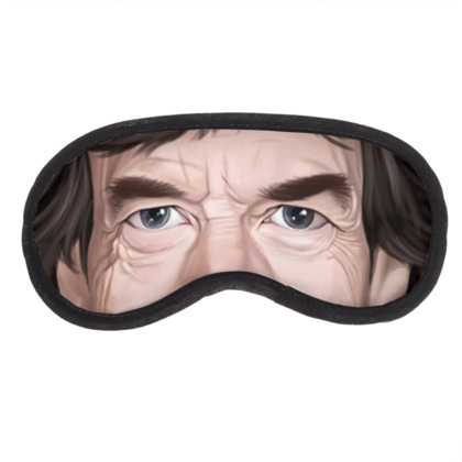 Mick Jagger Celebrity Caricature Eye Mask