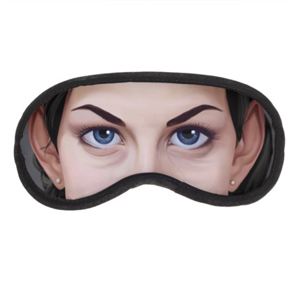 Liv Tyler Celebrity Caricature Eye Mask