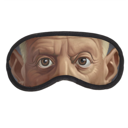 Pablo Picasso Celebrity Caricature Eye Mask