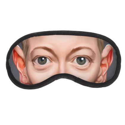 Tilda Swinton Celebrity Caricature Eye Mask