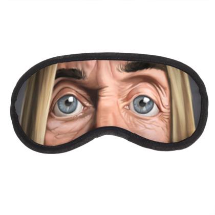 Iggy Pop Celebrity Caricature Eye Mask