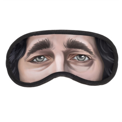 Kit Harington Celebrity Caricature Eye Mask