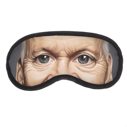 Michael Keaton Celebrity Caricature Eye Mask
