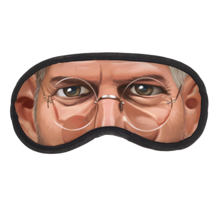 Steve Jobs Celebrity Caricature Eye Mask