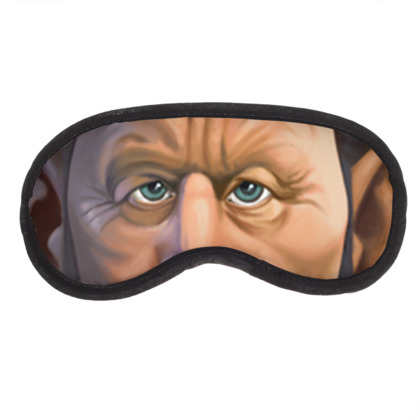 Tom Waits Celebrity Caricature Eye Mask