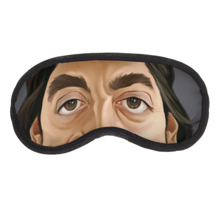 Javier Bardem Celebrity Caricature Eye Mask