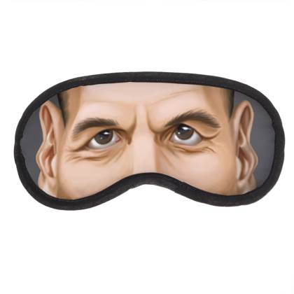 Yanis Varoufakis Celebrity Caricature Eye Mask