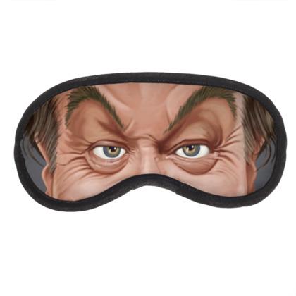 Jack Nicholson Celebrity Caricature Eye Mask