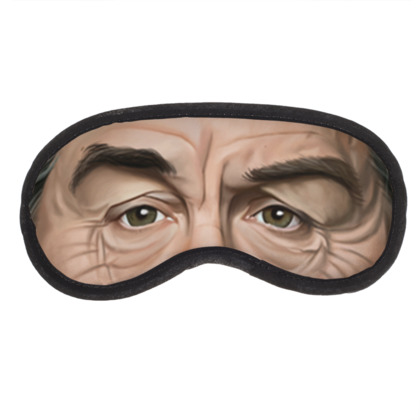 Robert De Niro Celebrity Caricature Eye Mask
