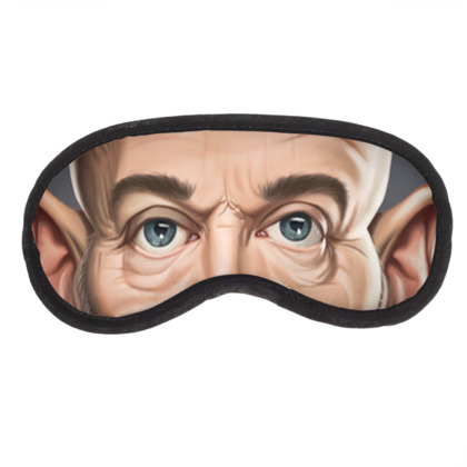 Michael Stipe Celebrity Caricature Eye Mask