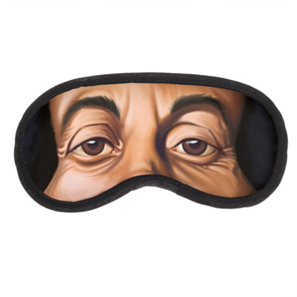 Bob Marley Celebrity Caricature Eye Mask