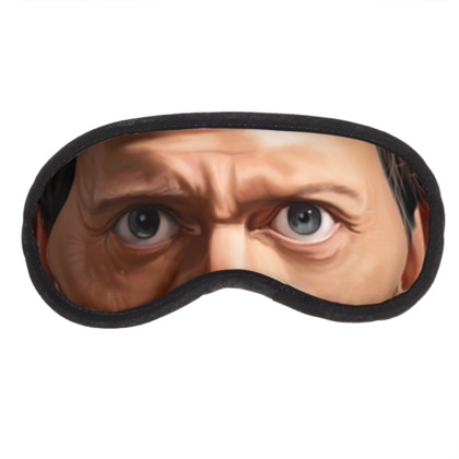 Hugh Laurie Celebrity Caricature Eye Mask
