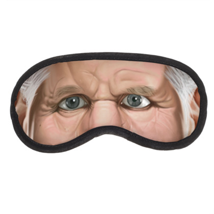 Ron Perlman Celebrity Caricature Eye Mask