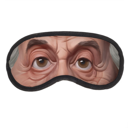 Albert Einstein Celebrity Caricature Eye Mask