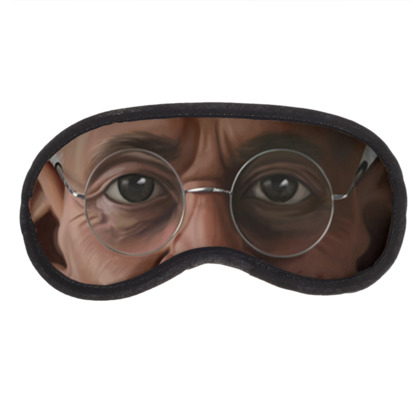 Mahatma Gandhi Celebrity Caricature Eye Mask
