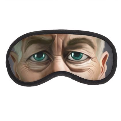 David Lynch Celebrity Caricature Eye Mask