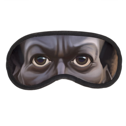 Miles Davis Celebrity Caricature Eye Mask