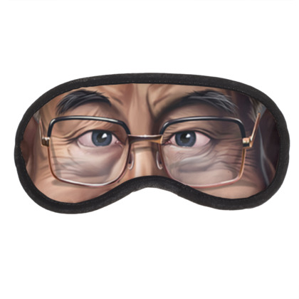 Dalai Lama Celebrity Caricature Eye Mask