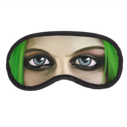 Avril Lavigne Celebrity Caricature Eye Mask