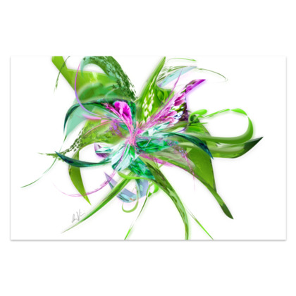 Sarong - Summer Flower White
