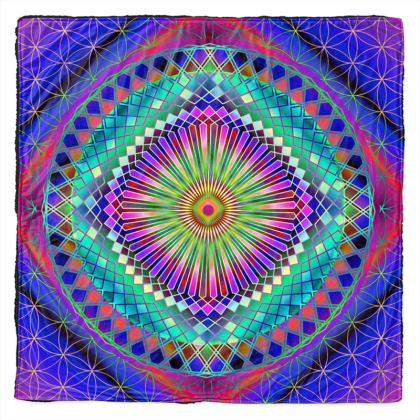 Throw Sun Mandala