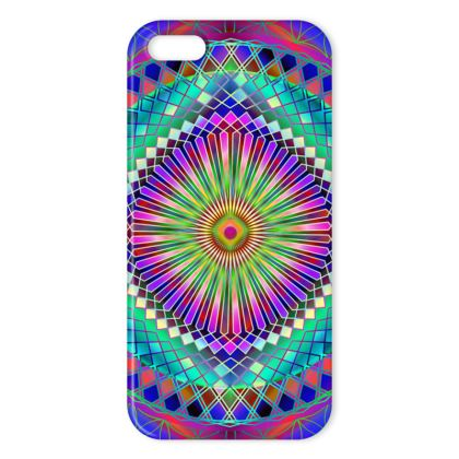 IPhone Cases Sun Mandala