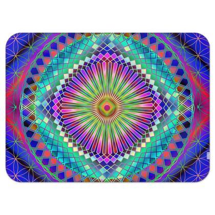Single Layer Blankets Sun Mandala