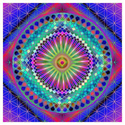 Coasters Sun Mandala
