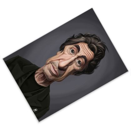 Al Pacino Celebrity Caricature Postcard