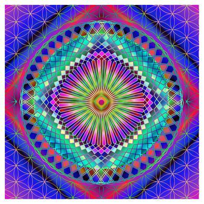 Cube Sun Mandala